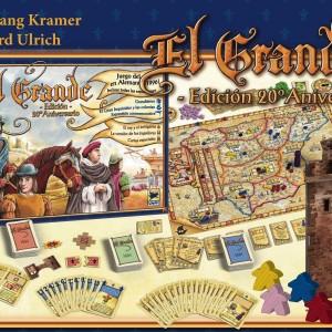 El grande 20 aniversario editorial Devir eurogame premiado con el galardón Spiel des Jahres 1996 disponible en Lámpara Mágica Shop Sevilla