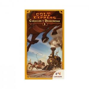 colt express caballos y diligencias juego de mesa expansión