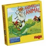 Animal sobre Animal juego de mesa de colocación de animales en equilibrio de la editorial HABA disponible en Lámpara Mágica Shop Sevilla