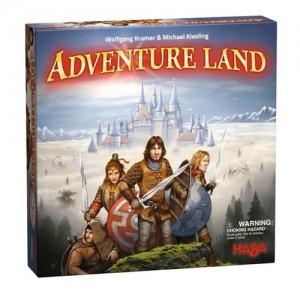 Adventure Land juego de mesa de la editorial HABA línea juvenil disponible en Lámpara Mágica Shop Sevilla