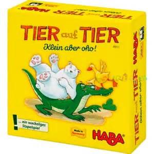 Animal sobre animal mini juego de mesa editorial Haba infantil disponible en Lámpara Mágica Shop Sevilla