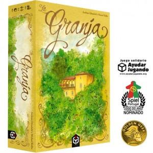 La Granja juego de mesa eurogame editorial Ludosentinel disponible en Lámpara Mágica Shop Sevilla