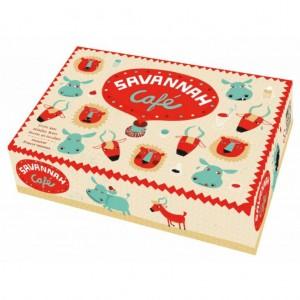 Savannah Café juego de mesa infantil editorial morapiaf disponible en Lámpara Mágica Shop Sevilla