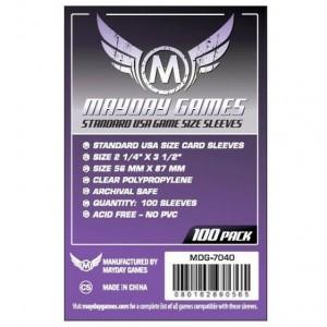 Fundas Mayday USA Standard 56x87 mm protege tus juegos de mesa