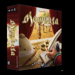 Mombasa juego de mesa editorial ludo sentinel disponible en Lámpara Mágica Shop Sevilla