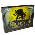 Una noche el hombre lobo es un juego de mesa de identidades ocultas de Viravi Ediciones disponible en Lámpara Mágica Shop Sevilla