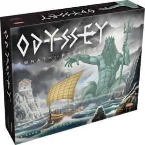 Odyssey la ira de poseidón juego de mesa de deducción disponible en Lámpara Mágica Shop Sevilla