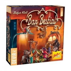 Bar Bestial es un juego de mesa editado por Devir en castellado disponible en Lámpara Mágica Shop Sevilla