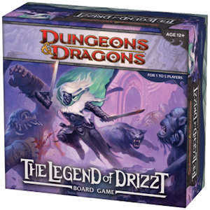 The Legend of Drizzt Dungeons and Dragons Boardgame juego de mesa cooperativo de explotación de mazmorras disponible en Lámpara Mágica Shop Sevilla