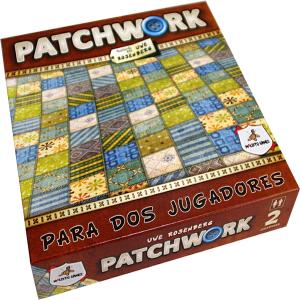 Patchwork es un juego de mesa para dos jugadores editado en castellano por Maldito Games disponible en Lámpara Mágica Shop Sevilla