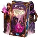 Artisans of Naqala expansión del juego de mesa Five Tribes editado en inglés disponible en Lámpara Mágica Shop Sevilla.