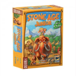 Stone Age Junior juego de mesa infantil a partir de 5 años ganador del premio Spiel des Jahres 2016 disponible en Lámpara Mágica Shop Sevilla