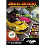 Dice Drivin juego de mesa de carreras de coches estética retro pixelart disponible en Lámpara Mágica Shop Sevilla