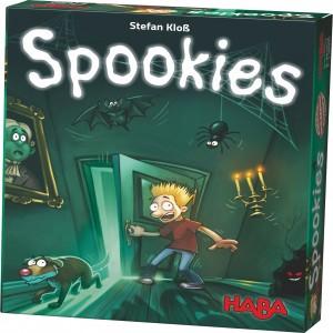 Spookies juego de mesa novedad de la editorial HABA un juego de misterio para toda la familia disponible en Lámpara Mágica Shop Sevilla