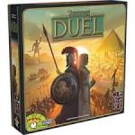 7 Wonders Duel juego de mesa 2 jugadores de estrategia y civilizaciones disponible en Lámpara Mágica Shop Sevilla