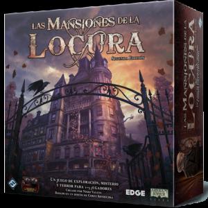 Las Mansiones de la Locura segunda edición es un juego de mesa cooperativo de investigación para 1 a 5 jugadores ambientado en el universo Mitos del Cthulhu disponible en Lámpara Mágica Shop Sevilla