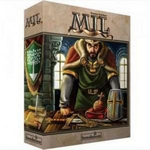 Mil (!049) es un eurogame duro ambientado en la alta edad media disponible en Lámpara Mágica Shop Sevilla