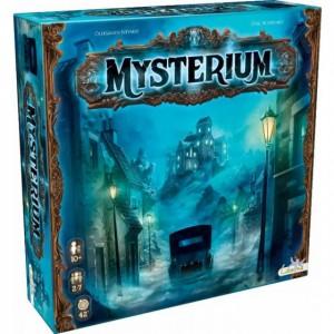 Mysterium juego de mesa cooperativo descubre el misterio que esconde la mansión del conde Warwick un juego de mesa disponible en Lámpara Mágica Shop Sevilla