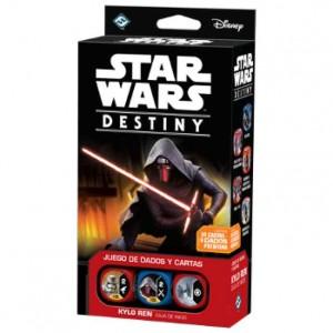 Star Wars Destiny caja de inicio Kylo Ren disponible en Lámpara Mágica Shop Sevilla