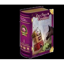 Los tres cerditos cuentos y juegos volumen I es un juego de mesa infantil disponible en Lámpara Mágica Shop Sevilla
