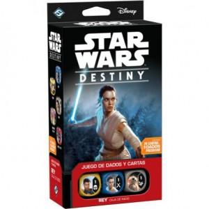 Star Wars Destiny caja de incio Rey editado en castellano por Edge Entertainment disponible en Lámpara Mágica Shop Sevilla