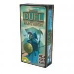 7 Wonders Duel Pantheon es una expansión para el juego de mesa 7 Wonders Duel que introduce la devoción hacia los distintos Dioses para obtener sus favores. Disponible para comprar en Lámpara Mágica Shop Sevilla.