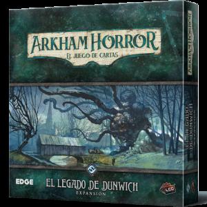El legado de Dunwich primera expansión de Arkham Horror el juego de cartas disponible para comprar en Lámpara Mágica Shop Sevilla