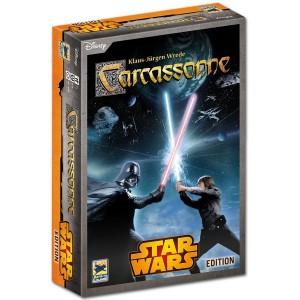 Carcassonne Star Wars es una reimplementación de clásico premiado juego de mesa Carcassonne en el Universo Star Wars disponible para comprar en Lámpara Mágica Shop Sevilla
