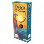 Dixit 3 es la sengunda expansión de 84 nuevas cartas para tu juego de mesa favorito Dixit o Dixit Odyssey disponible para comprar en Lámpara Mágica Shop Sevilla.