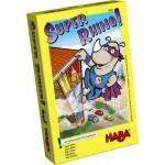 Super Rhino es un juego de mesa de Haba con reglas sencillas para diversirse jugando toda la familia disponible para comprar en Lámpara Mágica Shop Sevilla