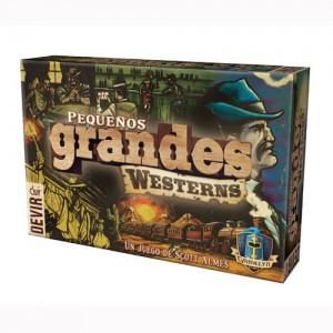 Pequeños Grandes Westerns es un juego de mesa en el que serás el jefe de una banda de pistoleros. Coloca a tus bandidos en los edificios adecuados y hazte con el control de la ciudad. Un juego de mesa disponible para comprar en Lámpara Mágica Shop Sevilla.