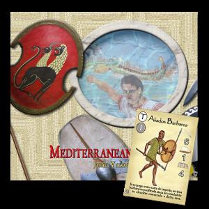 Imperios del Mediterráneo, un juego de mesa creado por Jorge Valenzuela para 2 a 8 jugadores que pugnan por el poder en el mediterráneo. Editado por Bellica 3rd Generation, disponible para comprar en Lámpara Mágica Shop Sevilla.