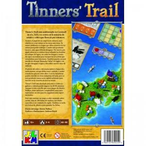 Tinner's Trail es un juego de mesa en el que asumes el papel de un empresario minero del autor Martin Wallace. Disponible para comprar en oferta en Lámpara Mágica Shop Sevilla.