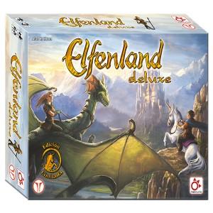 Elfenland deluxe una edición especial de uno de los ganadores del Spiel des Jahres. Un juego de mesa para todos los públicos disponible para comprar en Lámpara Mágica Shop Sevilla.