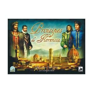 Príncipes de Florencia, un juego de mesa en el que competirás por convertirte en la familia con más prestigio y mejor reputación de Florencia. Disponible en oferta en Lámpara Mágica Shop Sevilla.