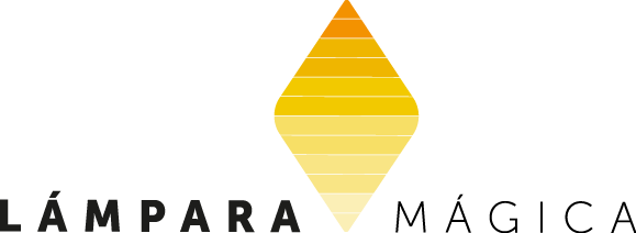 Nueva imagen corporativa y logotipo de Lámpara Mágica Shop tu tienda online de juegos de mesa. Estamos en Sevilla.