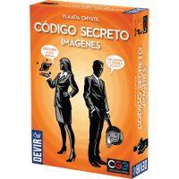 Código Secreto imágenes es la versión con ilustraciones del galardonado juego de mesa Código Secreto. En lugar de una palabra, cada tarjeta contiene una imagen. Disponible para comprar en oferta en Lámpara Mágica Shop. Estamos en Sevilla.