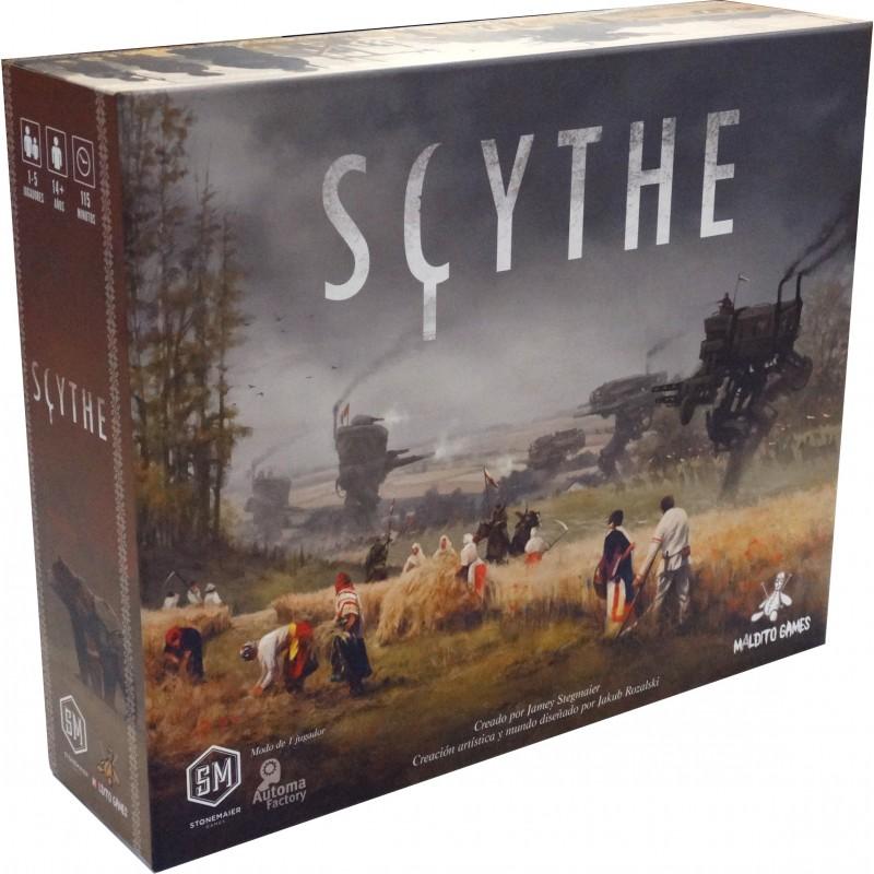 scythe juego de mesa maldito games