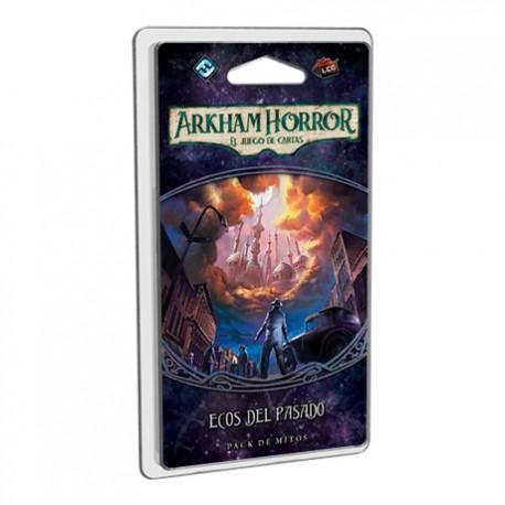 Ecos del pasado es el primer pack de mitos de la Campaña El Camino a Carcosa de Arkham Horror el juego de cartas. Disponible para comprar en oferta en Lámpara Mágica Shop. Estamos en Sevilla.