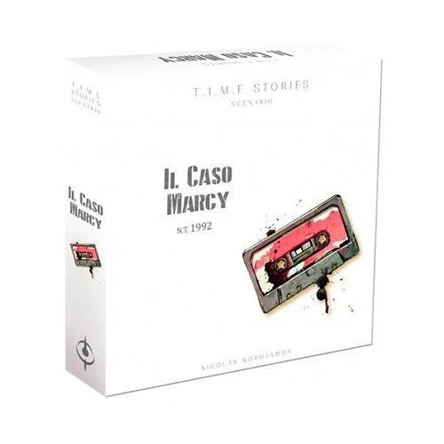 El caso Marcy es la primera expansión en castellano para TIME Stories. Viaja a 1992 e intenta rescatar a Marcy,. ¡Buena suerte agentes!. Un juego de mesa disponible para comprar en Lámpara Mágica Shop. Estamos en Sevilla.