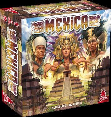 Mexica es un juego de mesa parte de la Trilogía de la Máscara, junto con Tikal y Java. Compite en la construcción de la ciudad de Tenochtitan. Un juego editado en castellano por Maldito Games.