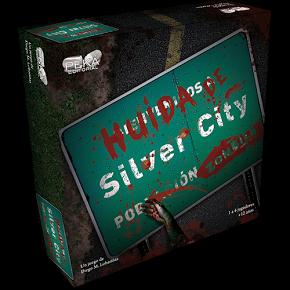 Huida de Silver City es un juego de mesa de supervivencia, donde los zombies te perseguirán sin descanso a través de calles y edificios. Disponible para comprar en oferta en Lámpara Mágica Shop. Estamos en Sevilla.