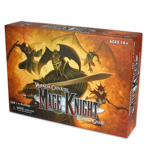 Mage Knight es un juego de mesa para 1 a 4 jugadores, en el que tomarás el control de un héroe explorando peligrosos territorios y conquistando regiones. Disponible para comprar en oferta en Lámpara Mágica Shop. Estamos en Sevilla.