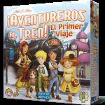 Aventureros al Tren el primer viajes es un juego de mesa para 2 a 4 jugadores a partir de 6 años. Perfecto para introducir a los más pequeños en la serie Aventureros al Tren, un juego de mesa de éxito para toda la familia. Disponible para comprar en oferta en Lámpara Mágica Shop. Estamos en Sevilla.