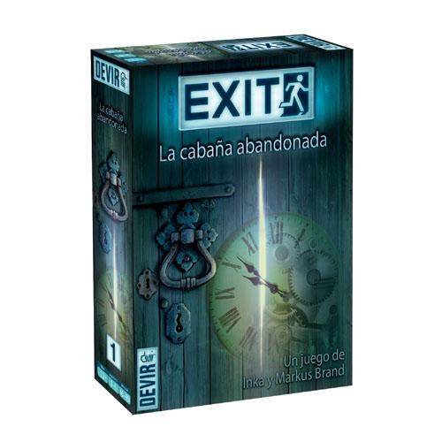 Exit la cabaña abandonada, es un juego de mesa cooperativo en el que de 1 a 6 jugadores se enfrentarán al reto de escapar de una habitación. Lleva el concepto de los escape room al salón de tu casa. Disponible para comprar en oferta en Lámpara Mágica Shop. Estamos en Sevilla.