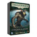 La maldición del rougarou es una aventura independiente de Arkham Horror el juego de cartas. Puedes añadirla a tu campaña como aventura secundaria. Disponible para comprar en oferta en Lámpara Mágica Shop. Estamos en Sevilla.