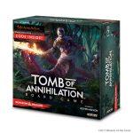 Tomb of Annihilation D&D Boardgame es un juego de mesa de exploración de mazmorras para 1 a 5 jugadores ambientado en el universo D&D. Disponible para comprar en oferta en Lámpara Mágica Shop. Estamos en Sevilla.