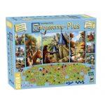 Carcassonne Plus 2017, contiene el juego básico y 11 expansiones. Para que disfrutes de todo un clásico de los juegos de mesa con una Big Box deluxe. Disponible para comprar en oferta en Lámpara Mágica Shop. Estamos en Sevilla.