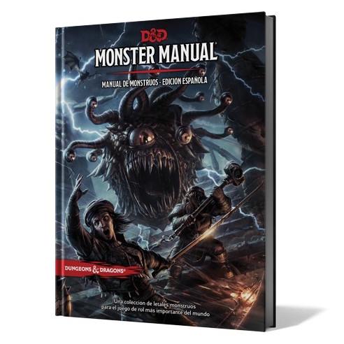 Manual de Monstruos de Dungeons & Dragons contiene una colección de criaturas letales para tu aventuras. Disponible para comprar en oferta en Lámpara Mágica Shop. Tu tienda especializada en juegos de mesa. Estamos en Sevilla.