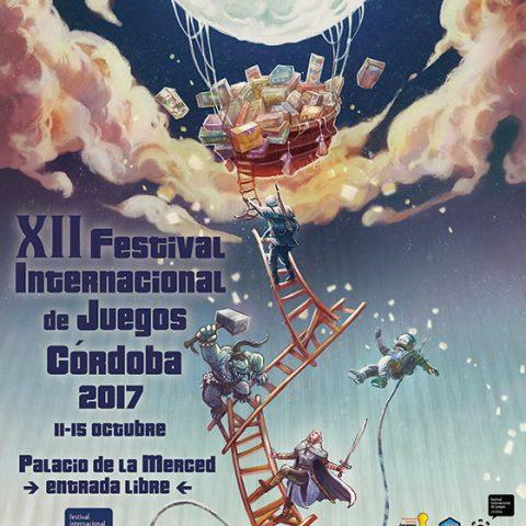 XII Festival Internacional de Juegos de Mésa en Córdoba, del 11 al 15 de octubre de 2017.